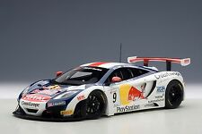 81342 McLaren Mp4-12c Gt3 Red Bull 2013 Nr 9 1 18 Autoart