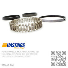 "179+0.060"" HASTINGS MOLY PISTON RINGS 179 & X2 6 CYL RED MOTOR [HOLDEN EH-HD]"