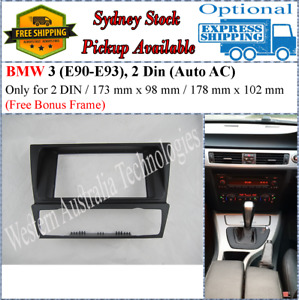 Fascia facia Fits BMW 3-Series (E90 E91 E92 E93) 2004-2012 Double Two 2DIN Dash
