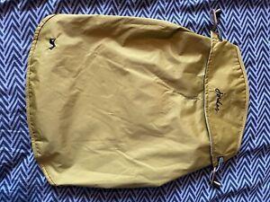 Joules Mustard Water Resistant Dog Coat Raincoat Jacket Medium
