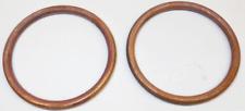 Honda XL350 CL450 CB450 CB500T Copper Hi-Quality EXHAUST GASKETS Set 16-1843