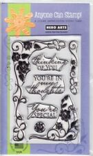 SCROLL FRAME - Hero Arts Poly Clear Stamp Set