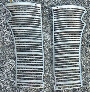 1938 38 Chevrolet Chevy Coupe Sedan Convertible Front Grill 2 Piece Stainless