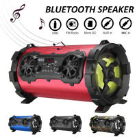 Wireless bluetooth Portable HIFI Speaker Stereo Super Bass Subwoofer Music Party