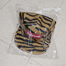 Supreme Wool Camp Cap FW19 Tiger Stripe - In Hand - Authentic - Free Shipping