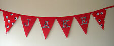 Football Fabric Party Banners, Buntings & Garlands
