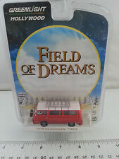 1/64 GREENLIGHT HOLLYWOOD FIELD OF DREAMS RAYS 1973 VOLKSWAGEN TYPE 2 RED B5/7