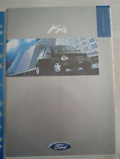 Ford Ka range brochure 1998 Ed 3