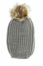 Faux Fur Beanie Hats for Women