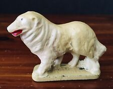 Vintage Dog Miniature Figure Toy Made In Usa 1950s 1960s Collie Retriever