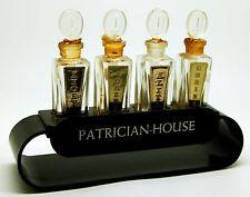 Patrician-House, Présentoir ancien avec ses 4 flacons-tiges