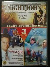 Nightjohn/The Ron Clark Story/Fielder's Choice (DVD, 2010) Region 1 NEW OOP