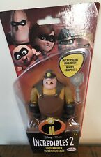 "Disney Pixar The Incredibles 2 Underminer with Microphone 4"" Figure"