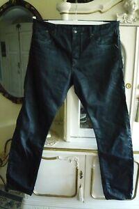REPLAY Jeans beschichtet  schwarz (Aquilino) Gr. 38 (große Größe) NEU