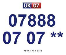 07888 07 07 **  - Gold Easy Memorable Business Platinum VIP UK Mobile Numbers