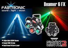 Chauvet DJ Beamer 6 RGB 3-in - 1 LED RGBW laser beam Cluster & LUCE STROBOSCOPICA effetto