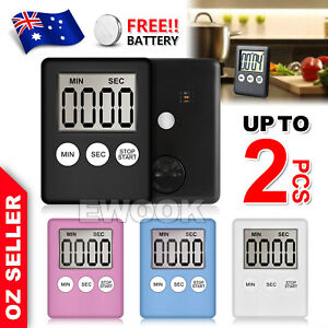 Magnetic Kitchen LCD Digital Timer Countdown Count Down 99 Minute Electronic Egg
