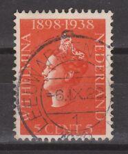 NVPH Netherlands Nederland 311 CANCEL LEEUWARDEN Wilhelmina 1938