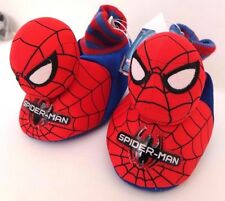 Marvel Comics Spider-Man Toddler Boys/Girls 3D Red/Blue Slipper Shoes Size 7-8