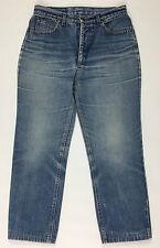 Americanino jeans w28 tg 42 donna gamba dritta boyfriend blu vintage T343