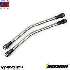 """Incision IRC00051 Rear Upper Suspension Link Kit 1/4"""" Stainless Steel Axial Yeti"""