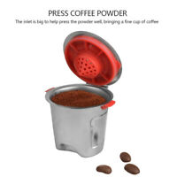 Stainless Steel Coffee Capsule Reusable Coffee Cup for Keurig K Cup Baskets Pod