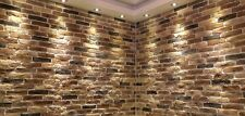 Autumn Blend Brick Slips, Wall Cladding, Feature Wall, Brick Tiles SAMPLE