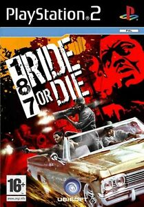 PS2 187 Ride or Die PAL Gioco Usato con Manuale Playstation 2