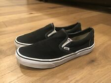 r4-380 Vans Classic Men's Slip-On Shoe in Black Men's Size 10
