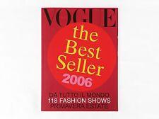 Vogue Italia The Best Seller 2006 Supplemento al Numero 665 di Vogue Italia