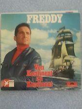 Freddy Von Kontinent Zu Kontinent LP 33RPM German and English Songs