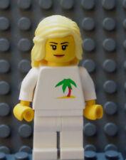LEGO Carribean Ocean Island Vacation Beach Boat vacation Cruise Girl Blond Hair