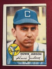 1952 Topps #169 Howie Judson White Sox Sharp Little OC Crease Free!!!