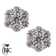 Orecchini con diamanti g in oro giallo 18 carati