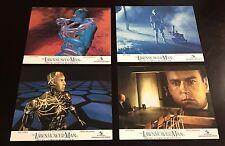 "Lot of 4 Original Movie Lobby Cards - The Lawnmower Man UK - 1992 - 8""x10"""