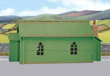 Wills SS70 - Corrugated Iron Chapel 1/76 Scale=00 Gauge Plastic Lineside Kit T48