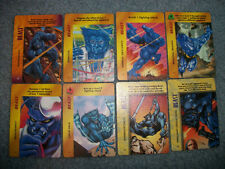 MARVEL OVERPOWER SPECIAL LOT - BEAST, BISHOP, IRON MAN, THOR, ROGUE ... 80 CARDS
