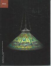 RAGO MODERN CERAMICS GLASS PORCELAIN Daum Galle Tiffany KPM Private Coll Cat 16