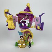 Disney Princess Little Kingdom Rapunzel's Stylin' Tower & Figures Playset VGC