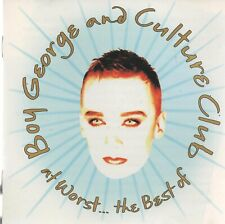 BOY GEORGE & CULTURE CLUB - At worst...the best of - CD album