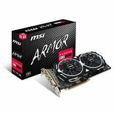 MSI Radeon RX 580 ARMOR 8GB OC Mining/Gaming Video Card AMD RX 580  NEW SEALED