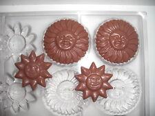 NEUE SCHOKOLADENFORM 2 X 6 SONNE NEW chocolate mold ANTON REICHE # 15164