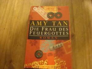 """Taschenbuch von Amy Tan """" Die Frau des Feuergottes"""""""