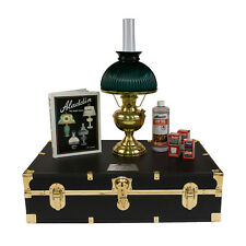 Aladdin Lamps Traveling Saleman's Case Brass K102 with N301 Shade #100032384