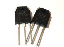 2SA1186 + 2SC2837 Audio Amp Transistors 1 Pair By SANKEN