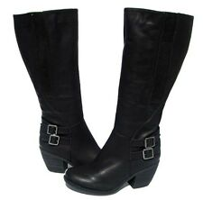 Women's Knee High Fashion BOOTS Hoshi-12 Black Winter Snow shoes Ladies size 7
