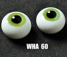 GoodQuality 8mm Mixed Green&Yellow Glass BJD Eyes for MSD DOD DZ AOD Volks Doll