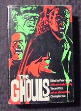 1971 THE GHOULS by P. Haining Vincent Price - Christopher Lee BCE HC/DJ FVF/FN+