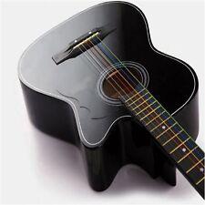 Useful Cool Unique 6PCS 1 Set New Colorful Guitar Strings For Acoustic Guitar