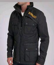 BNWTS New Mens Superdry Blackhawk Jacket Size Medium 38 chest coat RRP £154.99